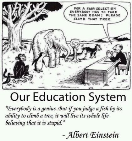 pilakuva perinteinen koulujärjestelmä