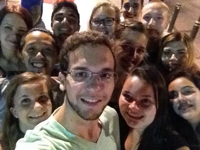 Vitória ES, Brasilia. Uusia ja vanhoja ystäviä.