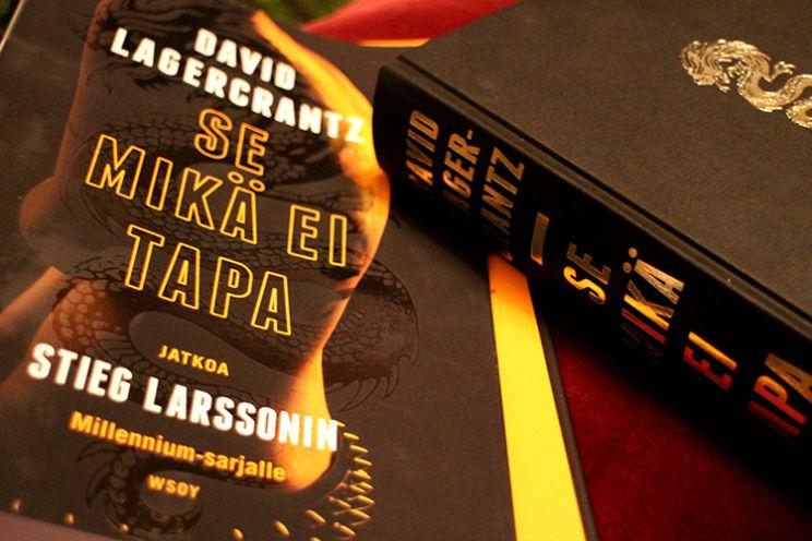 Stieg Larssonin mahtava Millennium-trilogia on saanut jatkoa. Tämä Potterin jälkeen lukuun.