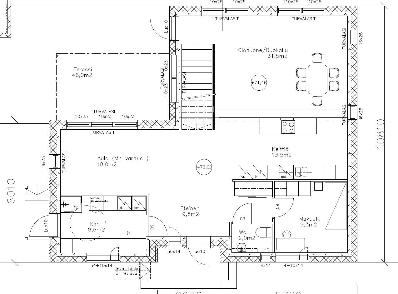 Asuntomessut 2016 LKV vaisto -talo alakerta