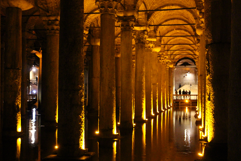 istanbul basilikan vesisäiliö turkki nähtävyydet