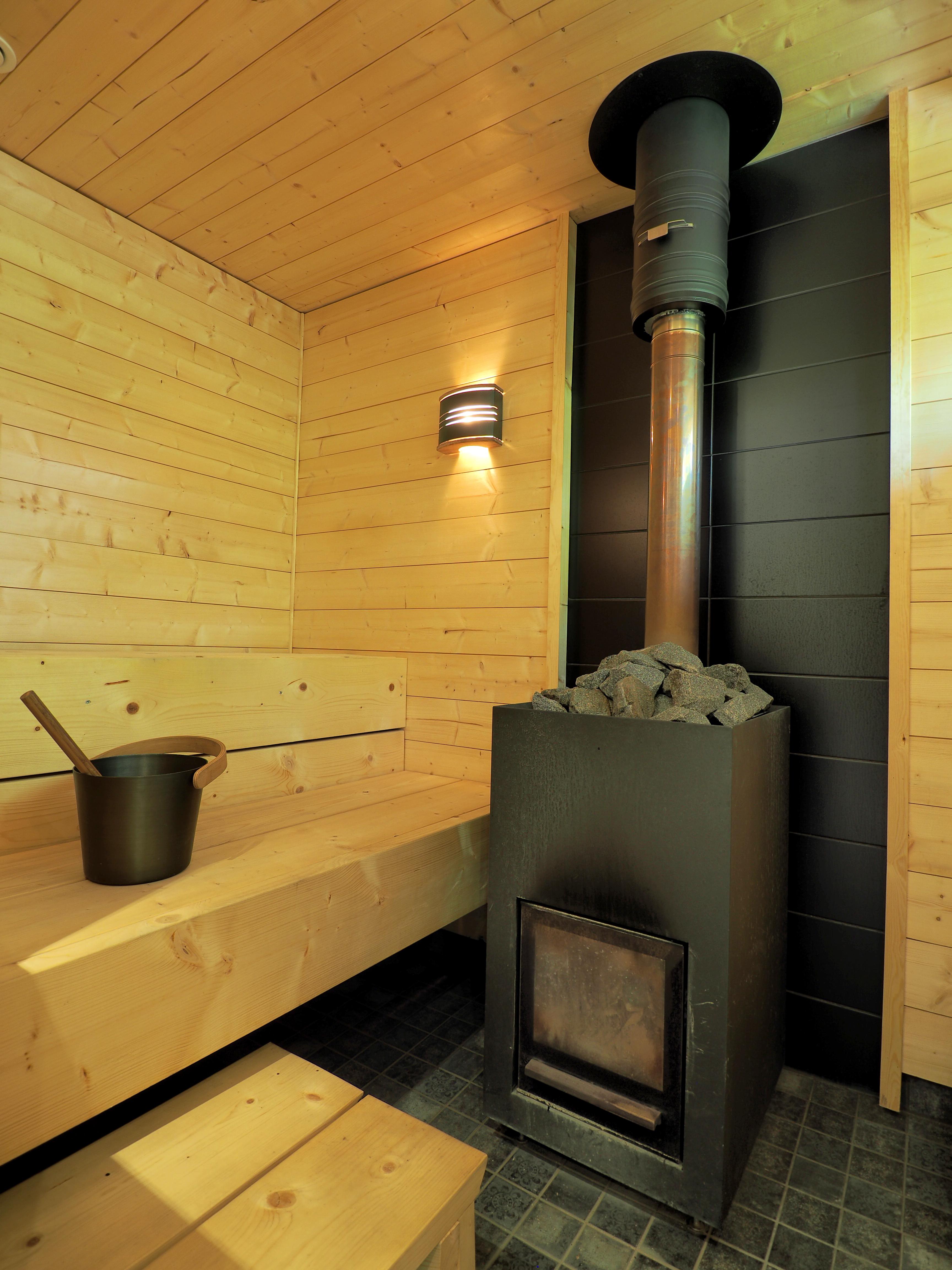 vaalea sauna - omakotitalo kauhava