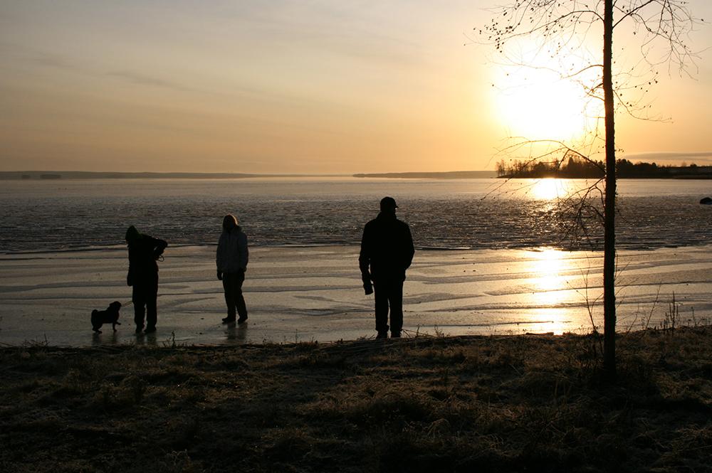 Lappajärvi talvella