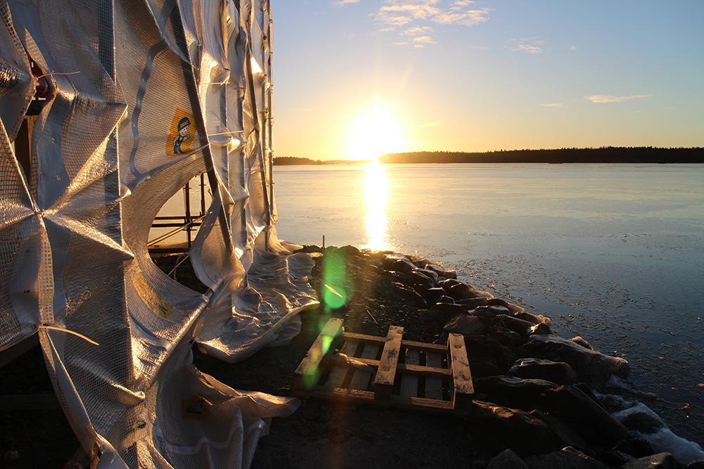 Pruukinranta Kyrkösjärvi Periskooppi Asuntomessut Seinäjoella syksyllä
